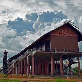 Rumah Betang, West Borneo by AbngFaisal Ami - Buildings & Architecture Public & Historical