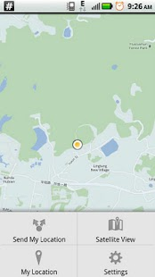 Share Location with GPS - screenshot