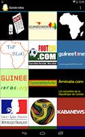Screenshot of Guinée Conakry Infos & Actus