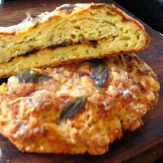Cheese and Potato Bread with Sage and Caramelised Onion
