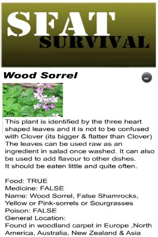 Edible Plants Survival [SFAT]