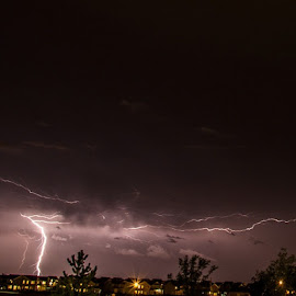 Lighting a city  by Jason Holden - Landscapes Weather