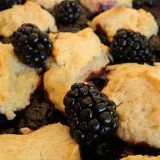 Blackberry Cobbler No Sugar Recipes