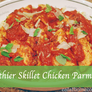 Healthier Skillet Chicken Parmesan and a chance to win $50,000 Kitchen Makeover