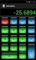 Screenshot of Basic calculator