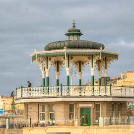 Brighton bandstand uk  by Mark West - Buildings & Architecture Statues & Monuments