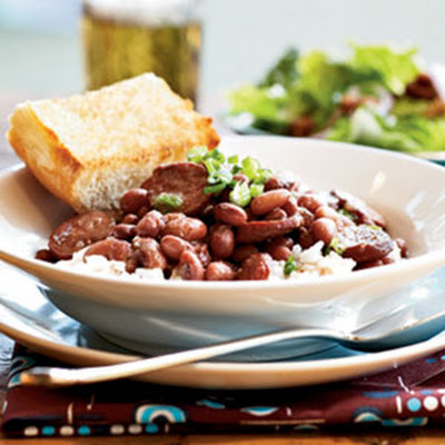 Red Beans and Rice with Smoked Turkey Sausage