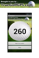Screenshot of GOLF DRIVE DISTANCE FREE GPS