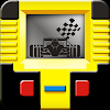 Handheld lcd car racing