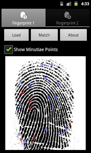 Fingerprint Matcher