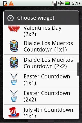 Dia de Los Muertos countdown
