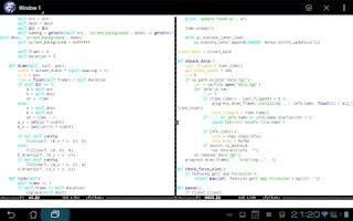 Screenshot of Emacs