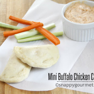 Mini Buffalo Chicken Calzones