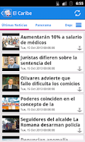 Screenshot of República Dominicana Noticias
