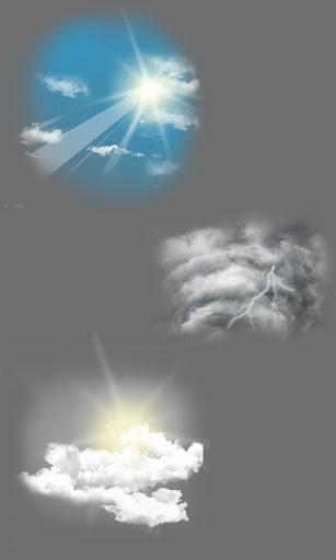 MYC Weather Theme - Asus icons