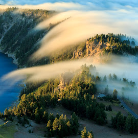 Heaven Below by Vldn Taylor - Landscapes Mountains & Hills ( oregon, crater lake, vldn taylor photography, crater lake national park, lake, landscapes )