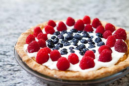 Fourth of July Buttermilk Pie Recept | Yummly