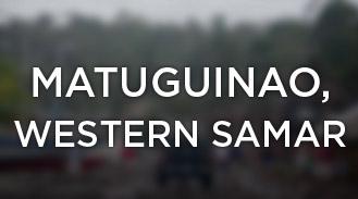 Matuguinao, Western Samar