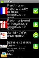 Screenshot of CatchTalk -Listen,Catch,Master