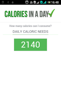 Calorie Calc + - screenshot