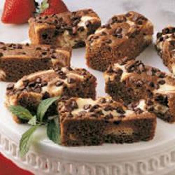 Marbled Chocolate Cheesecake Bars Recipe | Yummly