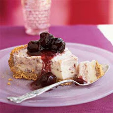 Cherries Jubilee Ice Cream Pie