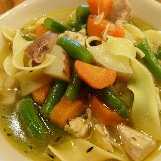 Chicken Stew With Potatoes And Egg Noodles Recipes