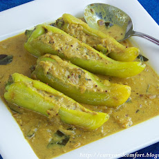Tuna Stuffed Banana Pepper Curry