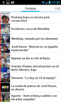 Screenshot of Mundo Deportivo Beta