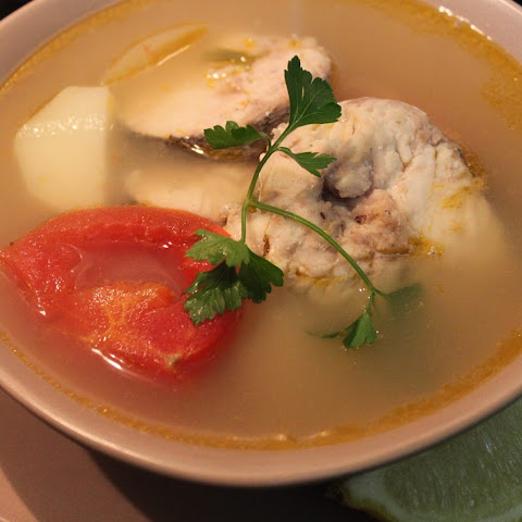 En Blanco (Spanish Fish Soup)