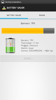 Screenshot of BATTERY SAVER FOR ANDROID FREE