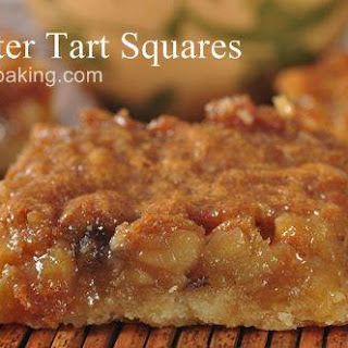 Butter Tart Squares With Corn Syrup Recipes
