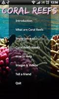 Screenshot of Coral Reefs