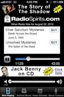 Screenshot of Radio Spirits