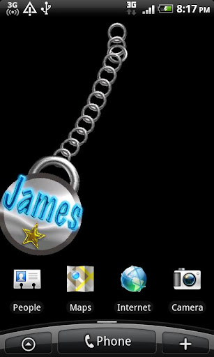 James Name Tag