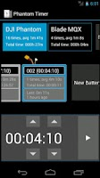 Screenshot of DJI Phantom Timer