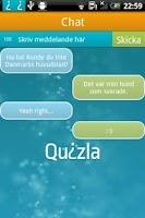 Screenshot of Quizla
