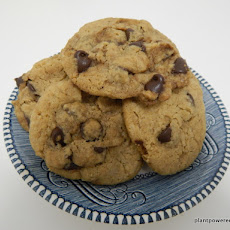 Vegan & Gluten Free Chocolate Chip Cookies