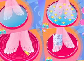 Screenshot of Princess foot spa - for kids