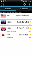 Screenshot of Exchange Rates / Bitcoin Rates