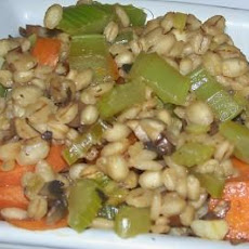 Delicious and Super Healthy Barley Vegetable Pilaf