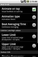 Screenshot of BeatDroid