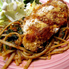 Chicken Parmesan With Whole Wheat Pasta