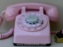 Desk Phones - Western Electric 5302 Pink 1