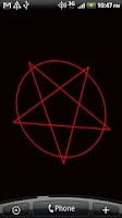 Screenshot of Spinning Pentagram Wallpaper