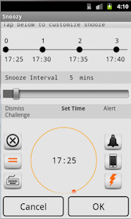 Snoozy Alarm Clock - screenshot
