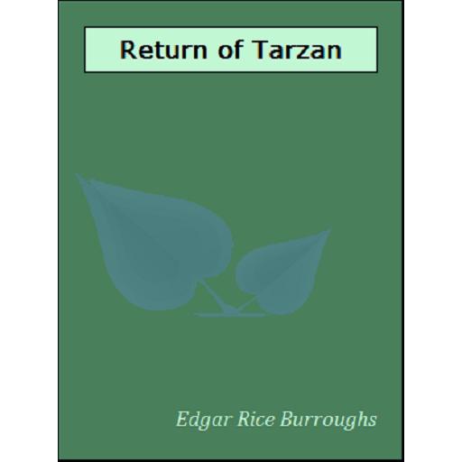 The Return of Tarzan 書籍 App LOGO-硬是要APP