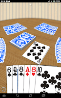 Screenshot of CrazyEights