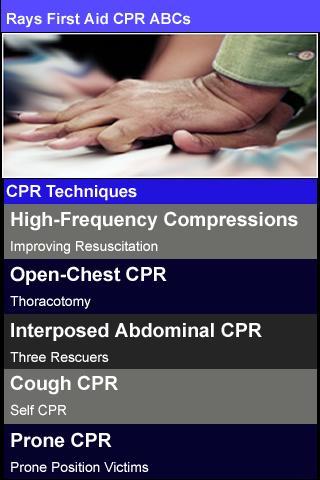 【免費醫療App】Rays First Aid CPR ABCs-APP點子