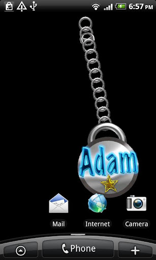 Adam Name Tag